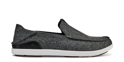 Mānoa Hulu Slip On | Dark Shadow / Black | Image 1