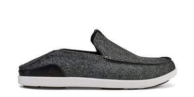 Mānoa Hulu Slip On | Dark Shadow / Black