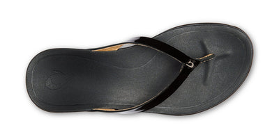 Ho'ōpio Leather | Black / Black
