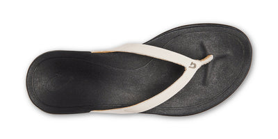 Ho'ōpio Leather | White / Black