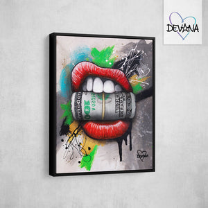 CANVAS PRINT | BANK ROLL
