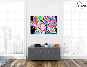 CANVAS PRINT | CRAZY THOUGHTS