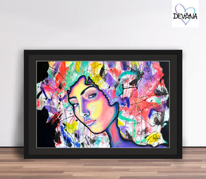 GICLÉE PAPER PRINT | CRAZY THOUGHTS