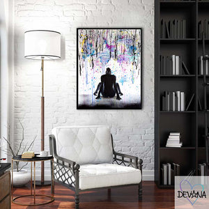 CANVAS PRINT | DOWN POUR