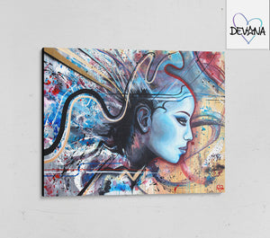 CANVAS PRINT | GODDESS
