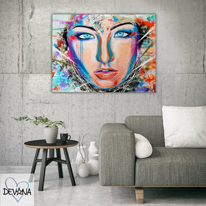 CANVAS PRINT | IN A TRANCE