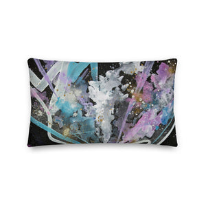 A Caged Mind Abstract - Premium Pillow