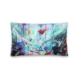 National Identity Crisis Abstract - Premium Pillow