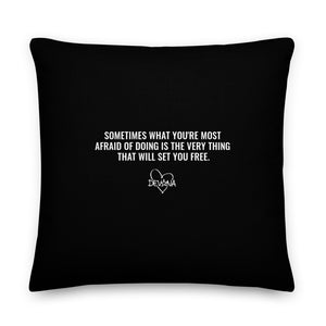 Set Me Free - Premium Pillow