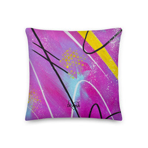 Blessed Abstract - Premium Pillow