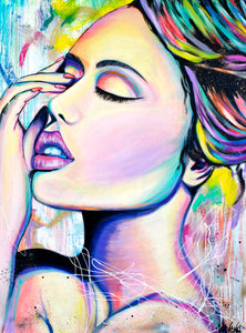 ORIGINAL PAINTING | SENSUAL BEAUTY
