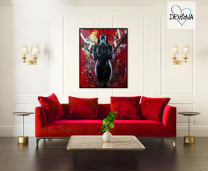 CANVAS PRINT | SINFUL