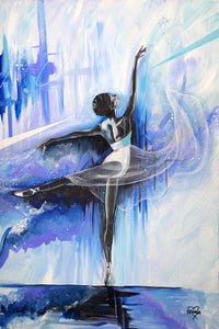 ORIGINAL PAINTING | TONIC ELEGANCE