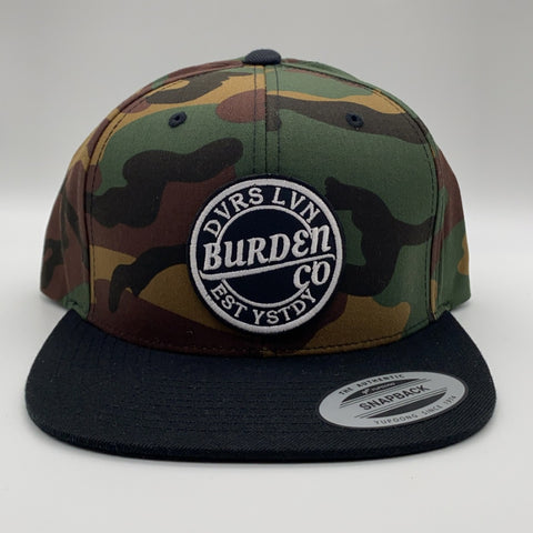 Break Through Snapback Camo
