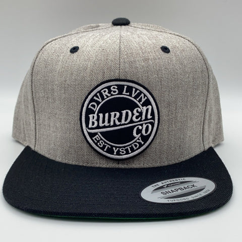 Break Through Snapback GreyUniversal fit snap back.