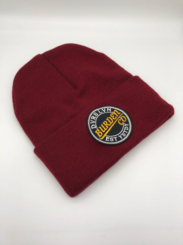 """Break Through"" Beanie(Red wine)"