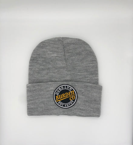 """Break Through"" Beanie(Grey)"