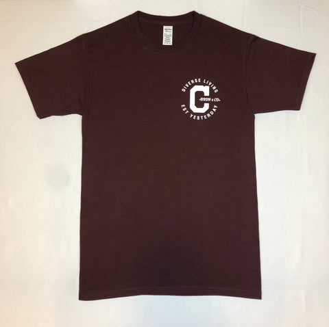"""Cali-Made Tee""(Unisex) Burgundy"
