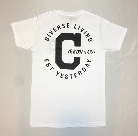 "The ""Cali-Made Tee""(Unisex) White"