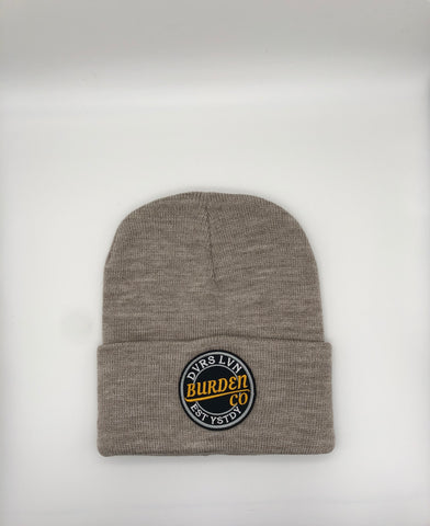 """Break Through"" Beanie(Tan)"