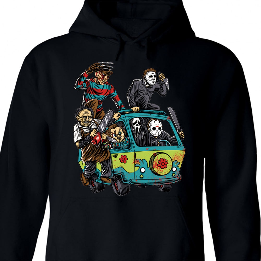 Horror Movie Hoodie The Massacre Machine