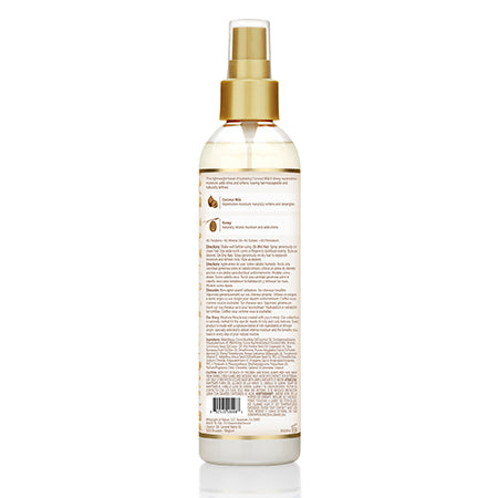 Afro Pride Moisture Miracle Leave-In Cond Spray Hydrate & Shine, 8 Oz