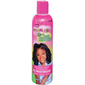 African Pride Dream Kids Olive Miracle Anti-Breakage Detangling Oil Moisturizer, 8 fl ozAfrican Pride Dream Kids Olive Miracle Anti-Breakage Detangling Oil Moisturizer, 8 fl oz