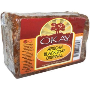 Okay African Black Soap, 5.5 OzOkay African Black Soap, 5.5 Oz