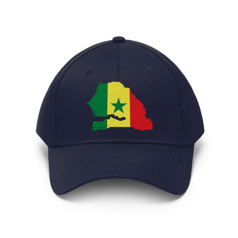 Unisex Twill Hat - Senegal