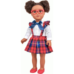 "Afro American My Life As 18"" Poseable School Girl Doll"