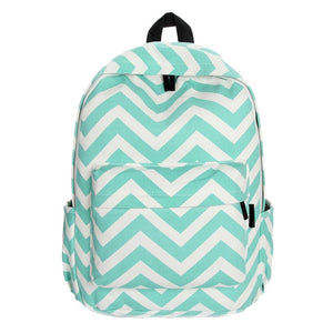 Fashion School Backpacks for Teenage Girls Canvas Women