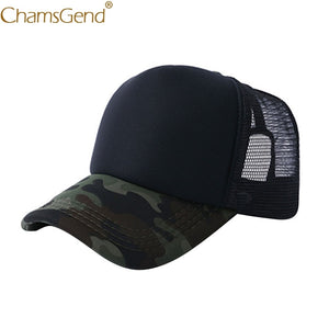 Camouflage Breathable Mesh Baseball Hat
