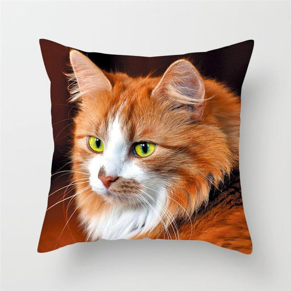 Cute Cat Cushion Covers For Children/Adult Deco