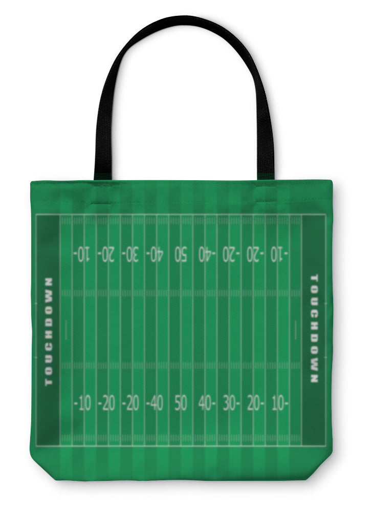 Tote Bag, American Football Field