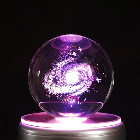 Beautiful Galaxy Navidad LED Crystal Ball