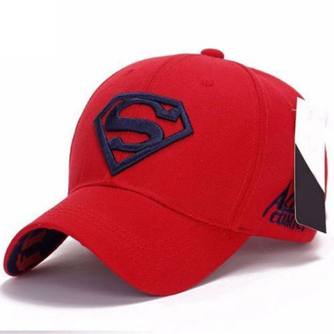 Unisex Snapback Adjustable Fit Baseball Cap Superman Hip-hop Stretch Hat
