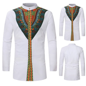 Beautiful Luxury Afro Long Sleeve Shirts (Shirt Gifts)
