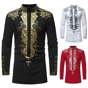 Men's Luxury Long Sleeve  Shirts, Top Gifts