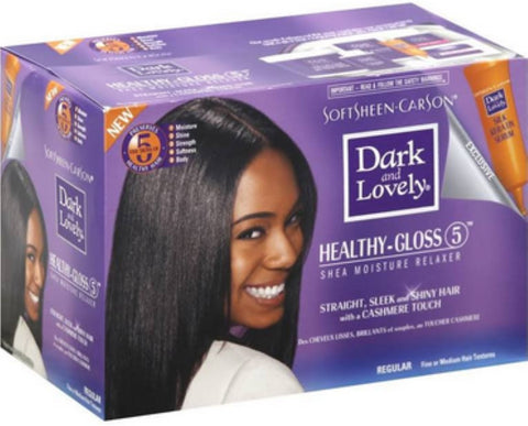 SoftSheen-Carson Dark and Lovely Healthy-Gloss 5 Shea Moisture No-Lye Relaxer - Regular
