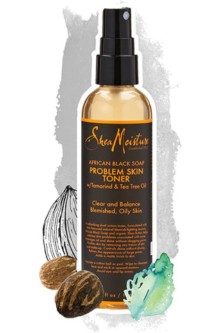 SheaMoisture African Black Soap Problem Skin Toner, 4.2 oz