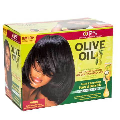 ORS Olive Oil Full Application No-Lye Hair Relaxer - Normal Kit