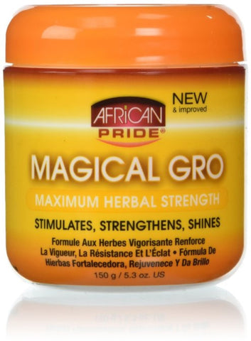 African Pride Maximum Herbal Magical Gro, 5.3 Oz