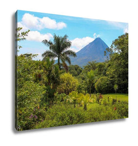 Gallery Wrapped Canvas, Arenal Volcano Costa Rica