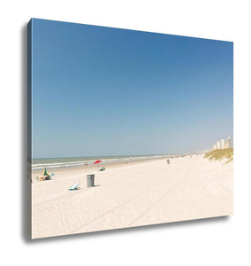 Gallery Wrapped Canvas, Typical Summer Day In Myrtle Beach