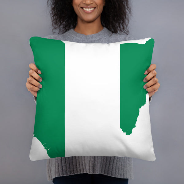 Beautiful Throw Pillow - Nigeria