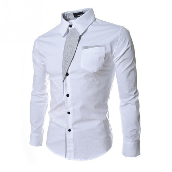 NEW Fashion Men Shirt Long-Sleeved
