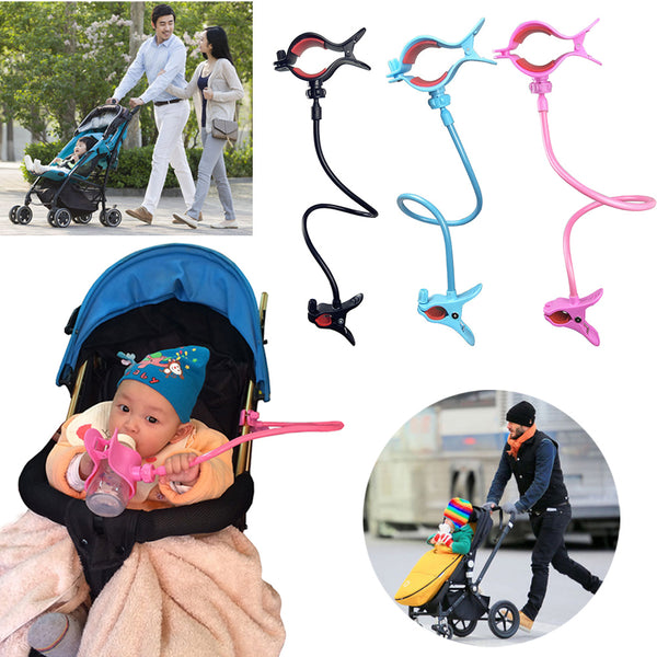 Hands-free Adjustable Bottle Clip Holder