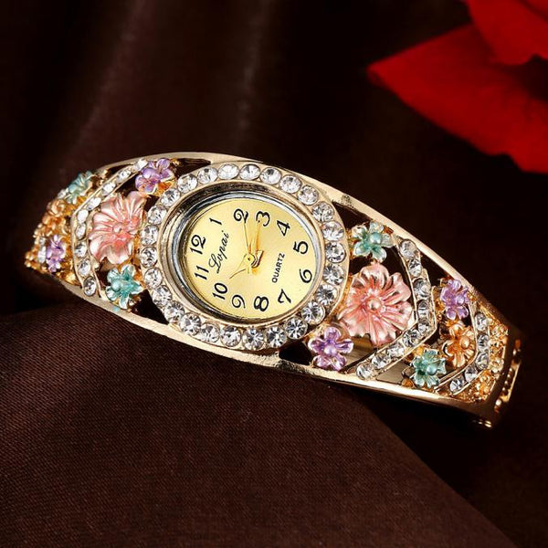 Afro Fashion Luxury Woman Watch
