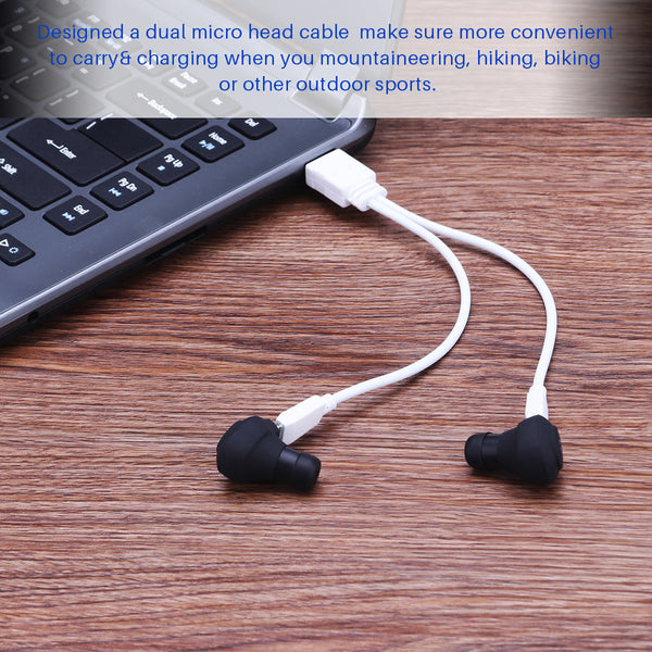 Mini TWS Twins Wireless In-Ear Stereo Bluetooth 4.1 Earphones Earbuds Headset With Microphone Cellphone Bluetooth