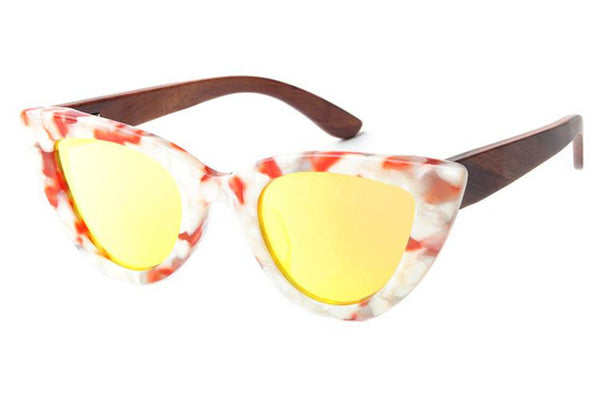New White High Quality Sun Glasses For Women